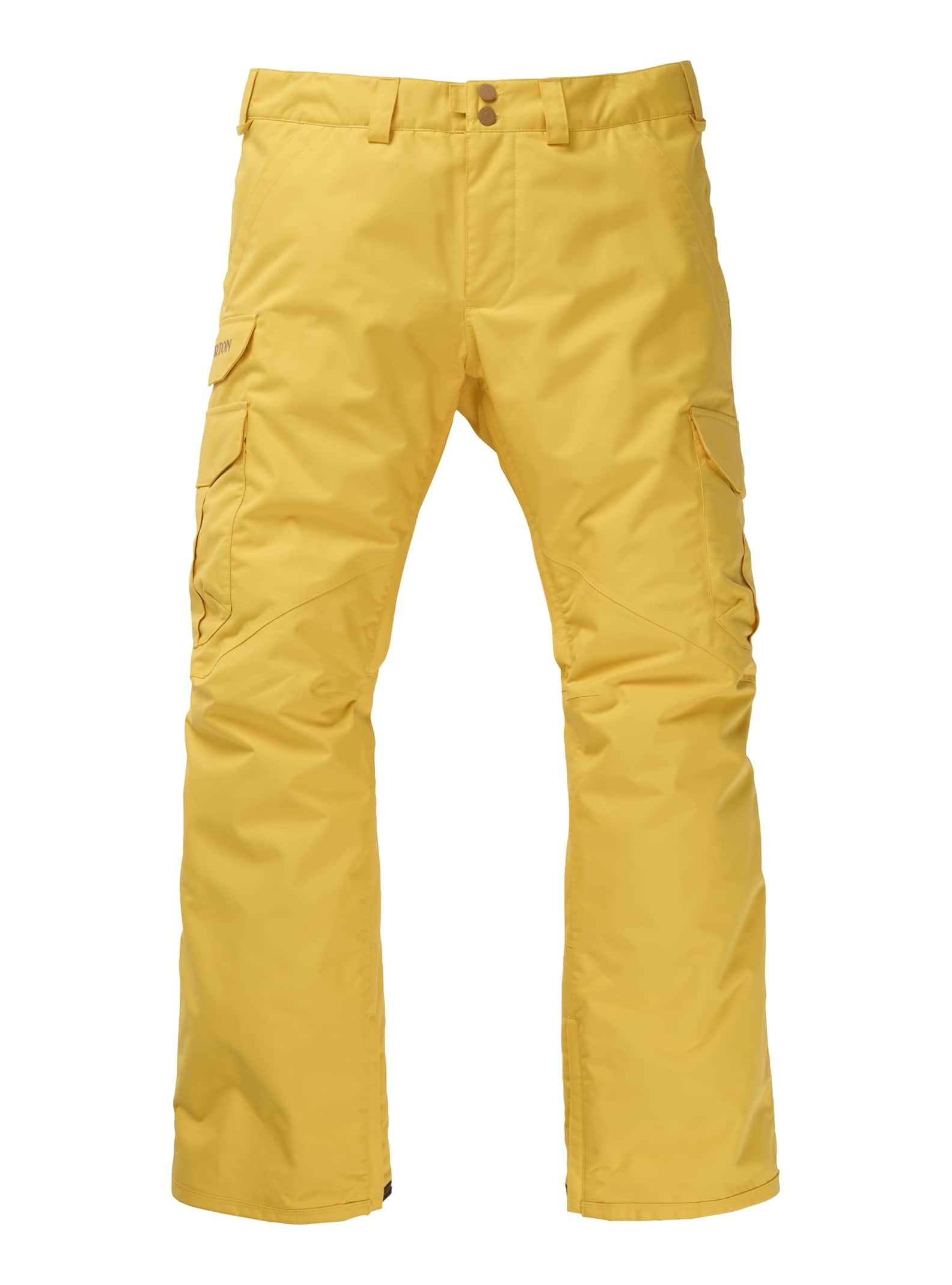 Medium Yellow Burton Cargo Regular Fit Pants 2020
