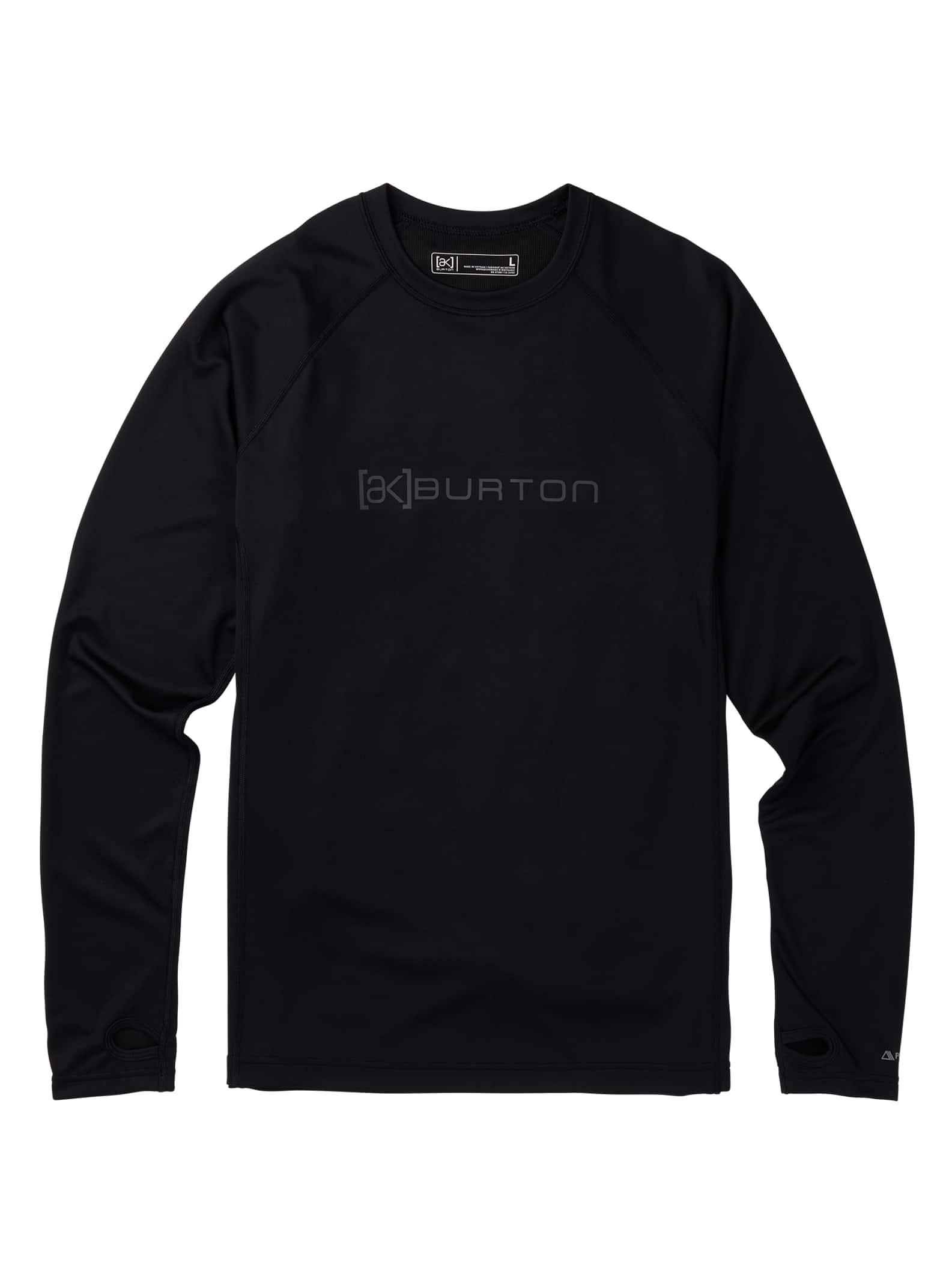 Burton [ak] Power Grid® underställtröja för herrar, True Black, S