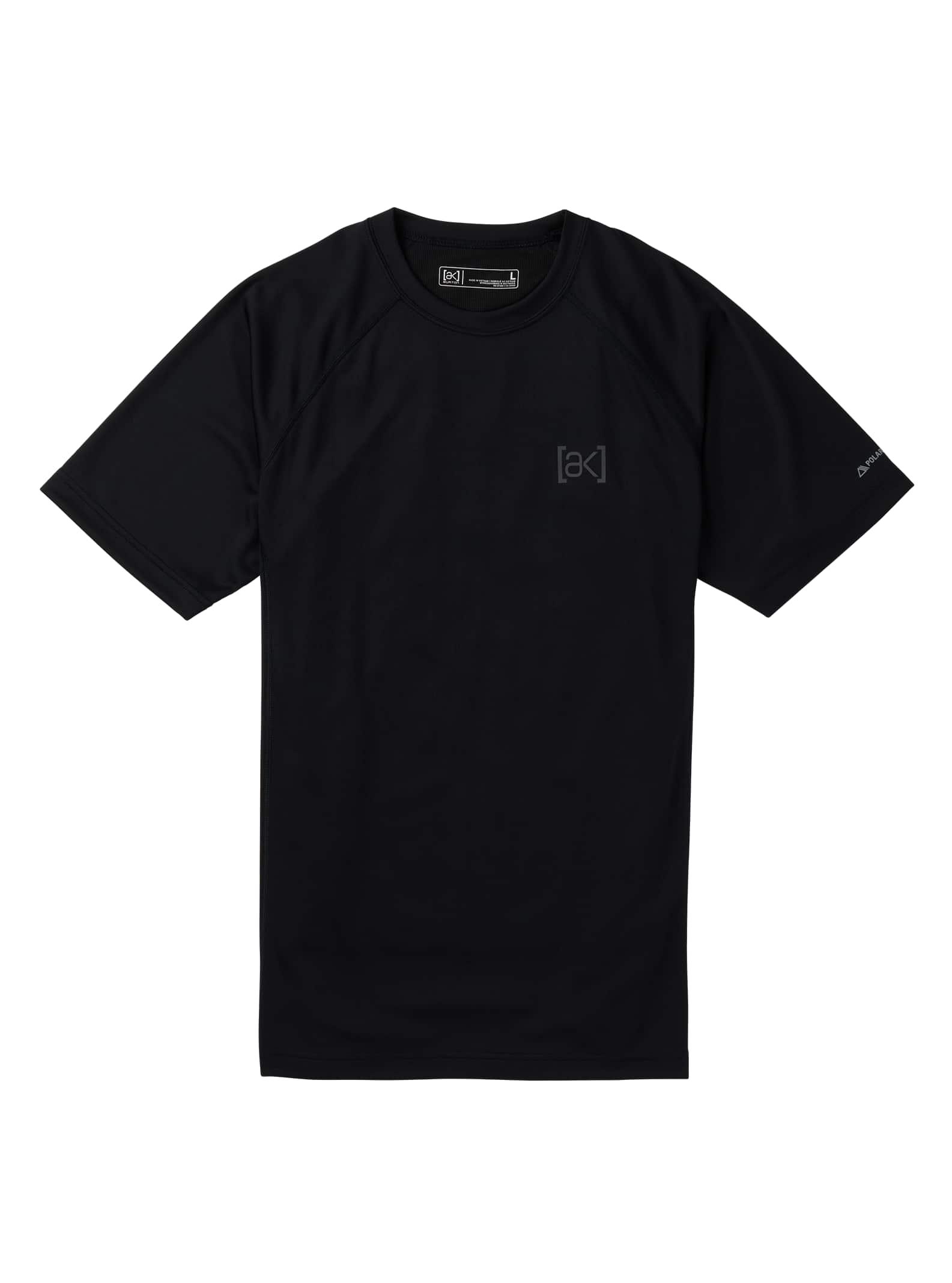Burton [ak] Power Grid® underställ t-shirt för herrar, True Black, S