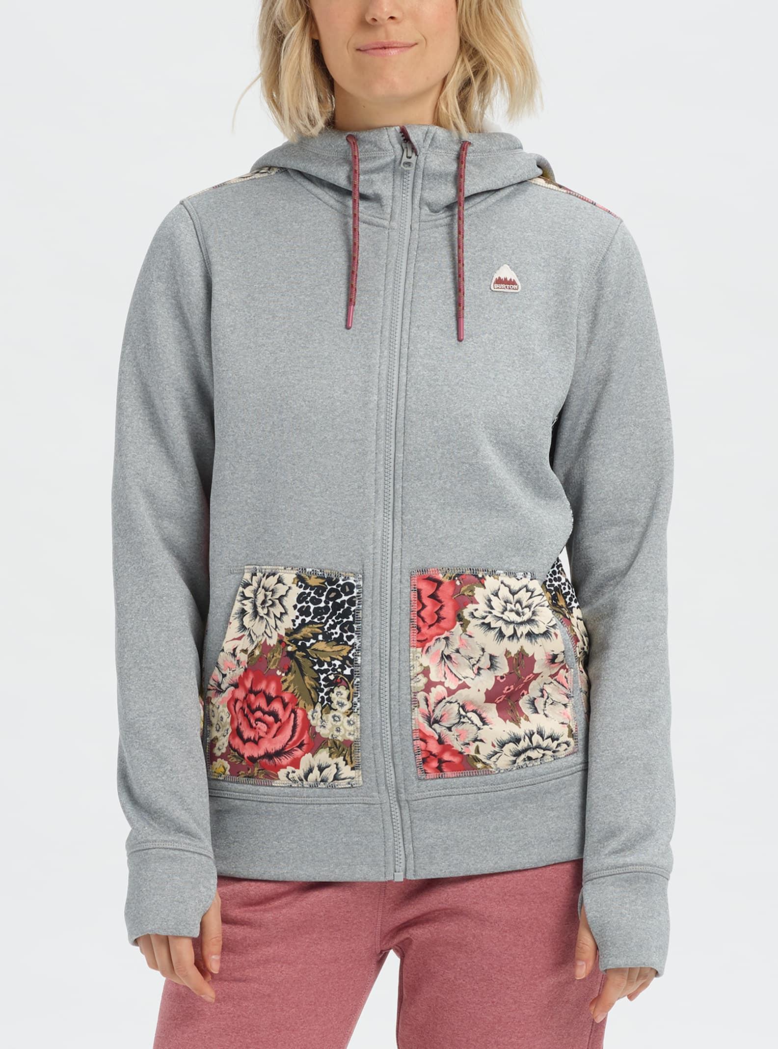 Women's Burton Oak Full Zip Hoodie