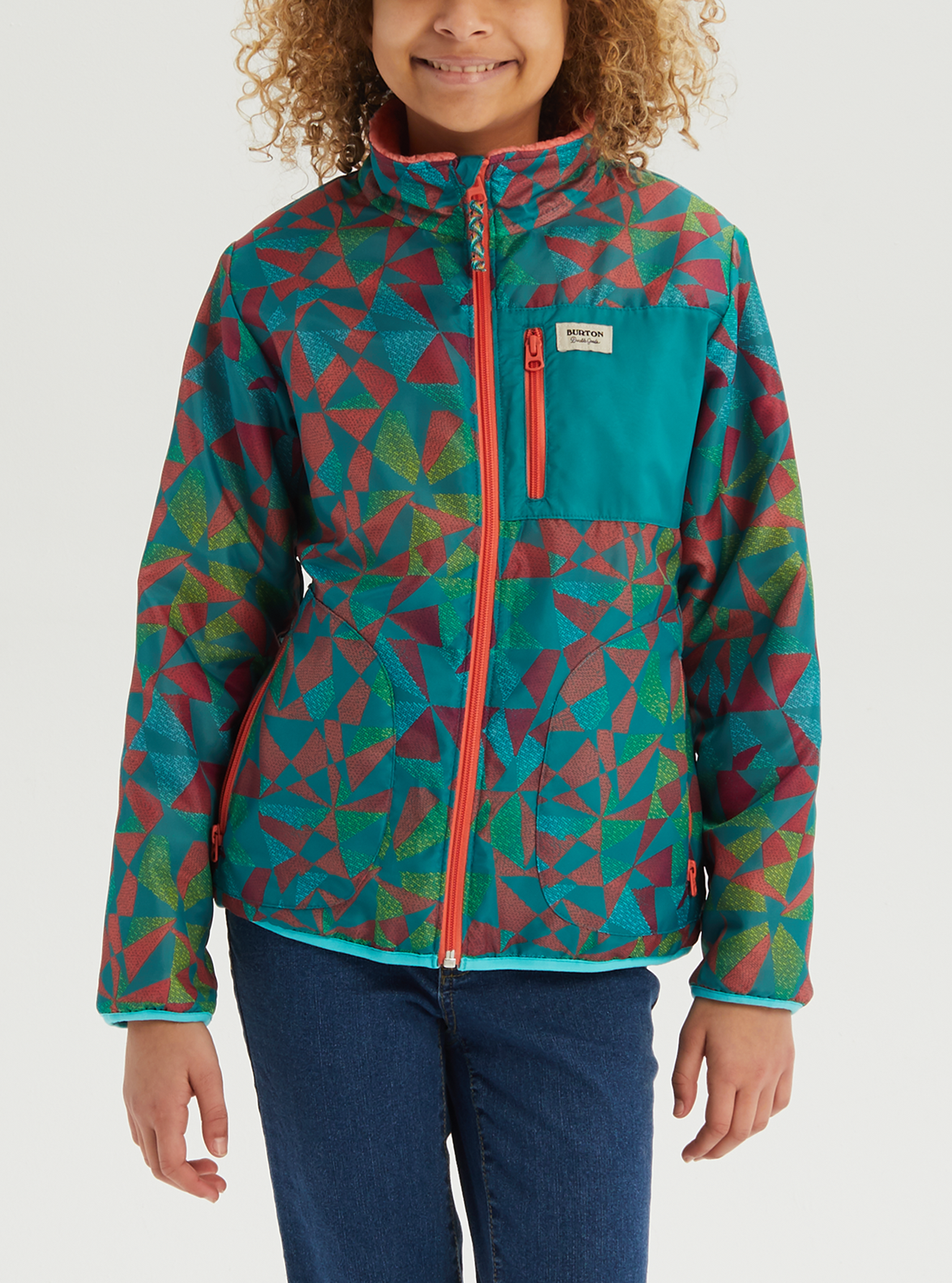 Burton Kids Snooktwo Reversible Jacket