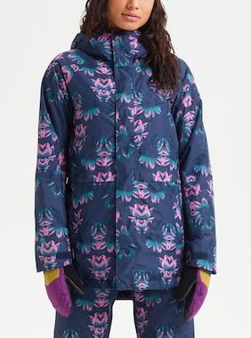 Women's Burton GORE‑TEX Kaylo Jacket shown in Dress Blue Stylus
