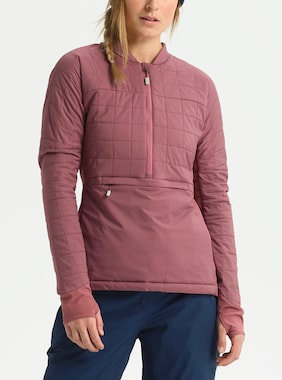 Women's Burton [ak] New Helium Jacket shown in Rose Brown