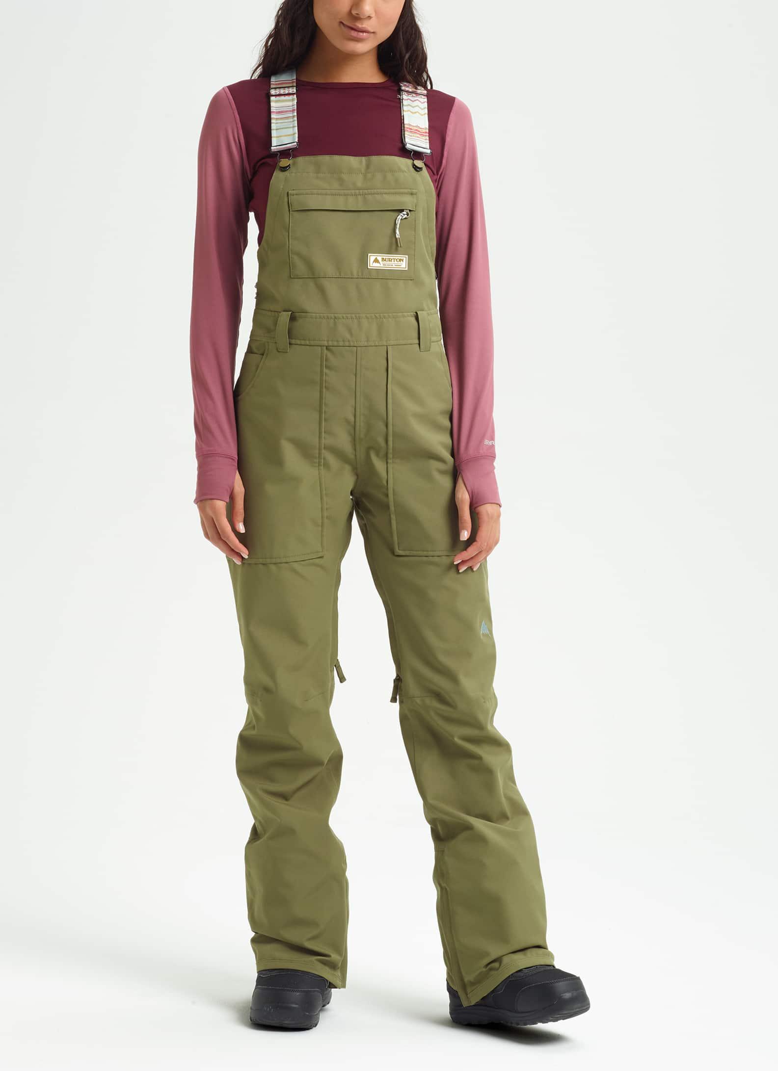 Burton Womens Avalon Bib Pant Available in Short /& Tall