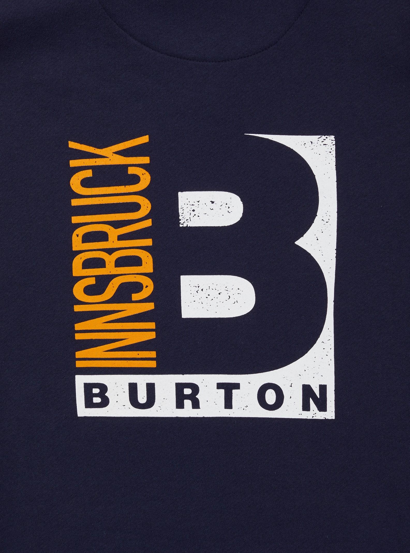 Burton Innsbruck pulloverhuvtröja, Navy, L