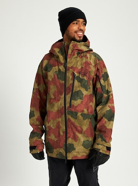 Men's Burton [ak] GORE‑TEX Cyclic Jacket shown in Martini Olive Telo Camo