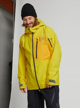 Men's Burton [ak] GORE‑TEX Cyclic Jacket shown in Cyber Yellow / Spectra Yellow