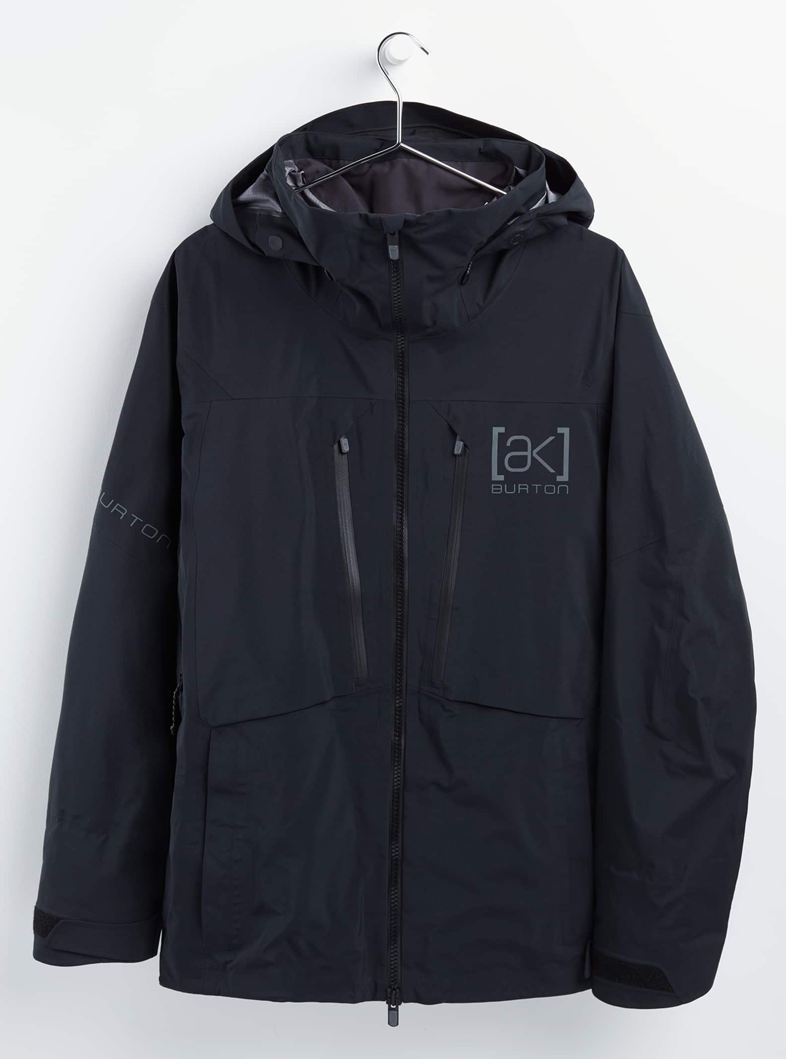 Burton [ak] GORETEX 3L Pro Hover-jacka för herrar, True Black, XL