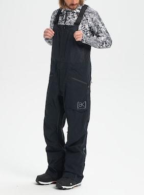 Men's Burton [ak] GORE‑TEX 3L Freebird Stretch Bib Pant shown in True Black