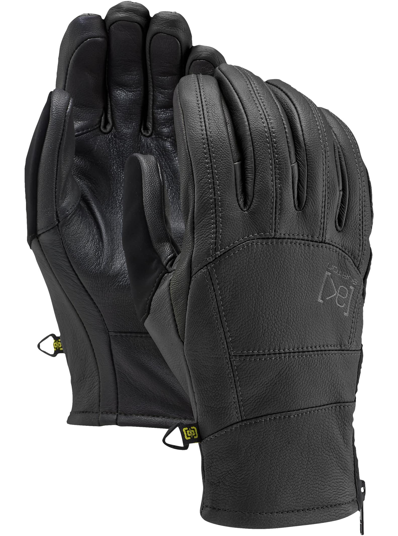 Burton [ak] Tech-läderhandske, True Black, XL