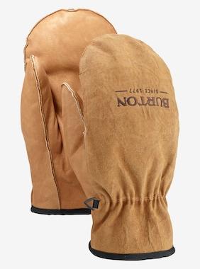 Men's Burton Work Horse Leather Mitten shown in Raw Hide