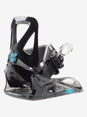 Kids' Burton Grom Disc Snowboard Binding shown in Black