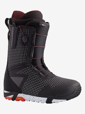 Men's Burton SLX Snowboard Boot shown in Black / Red