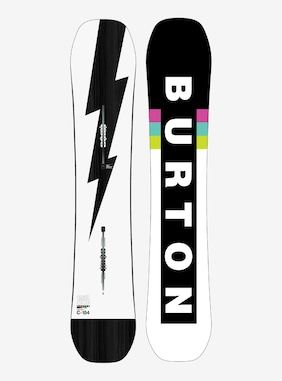 Men's Burton Custom Camber Snowboard shown in 154