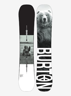 Men's Burton Process Camber Snowboard shown in 159