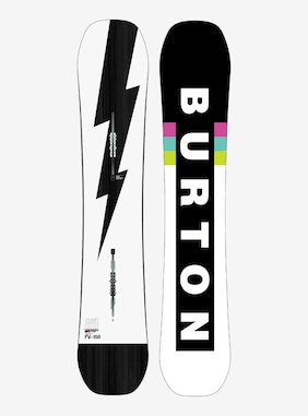 Men's Burton Custom Flying V Snowboard shown in 158