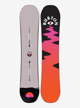 Women's Burton Yeasayer Flying V Snowboard shown in 140