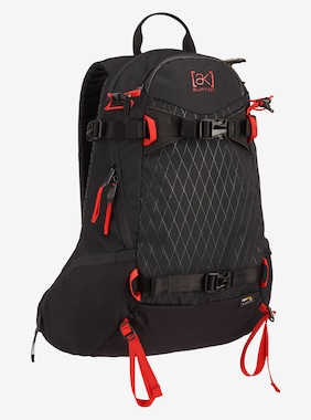 Burton [ak] Sidecountry 20L Backpack shown in Black Cordura