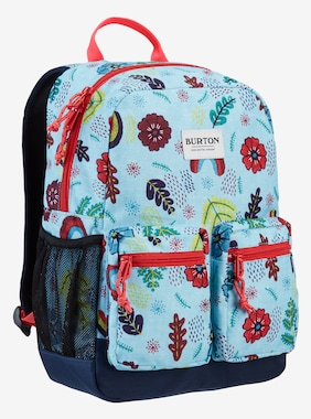 Kids' Burton Gromlet 15L Backpack shown in Embroidered Floral Print