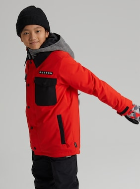 Kids' Burton Uproar Jacket shown in Flame Scarlet