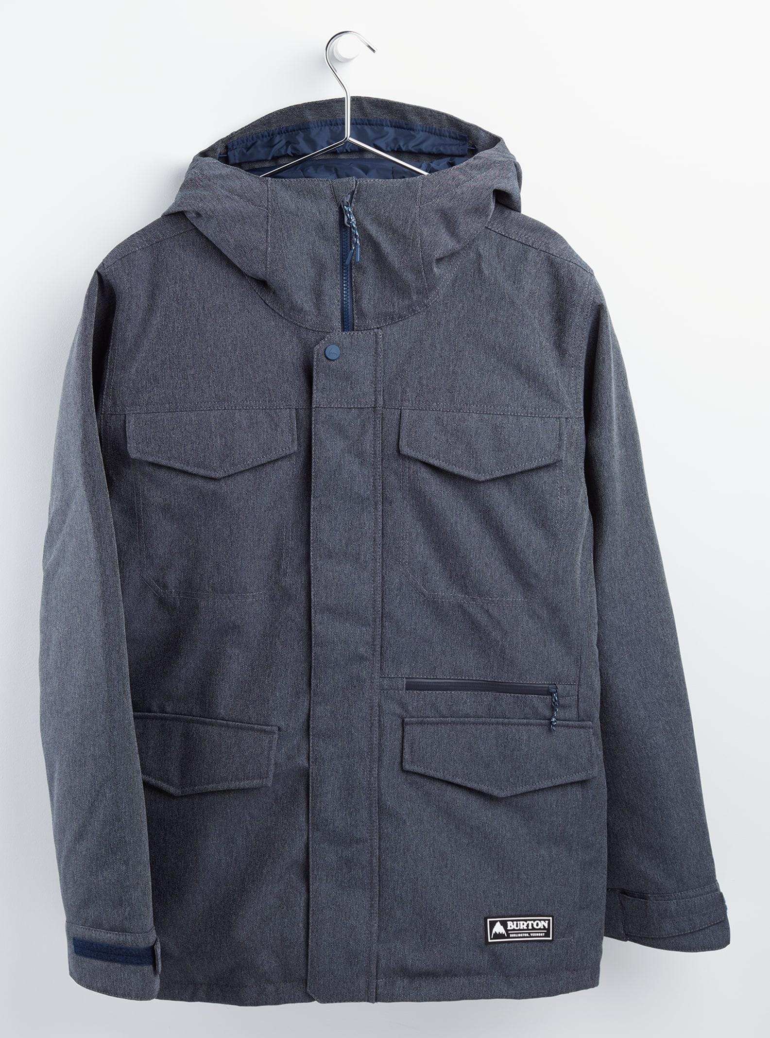 Burton Covert-jacka för herrar, Denim, XL