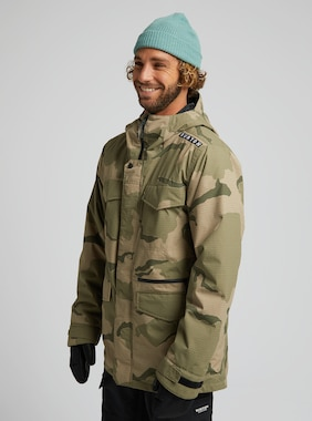 Men's Burton Covert Jacket shown in Barren Camo