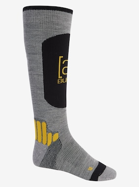 Men's Burton [ak] Endurance Sock shown in Gray Heather