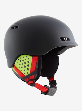 Men's Anon Rodan Helmet shown in Black Pop