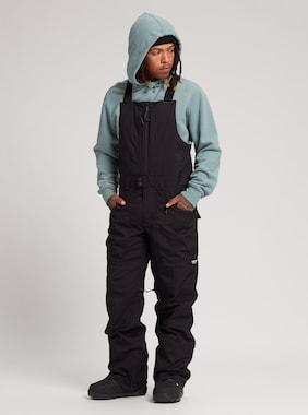 Men's Burton Reserve Bib Pant shown in True Black