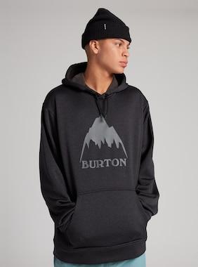 メンズ Burton オーク プルオーバーフーディー 画像のアイテムはTrue Black Heather