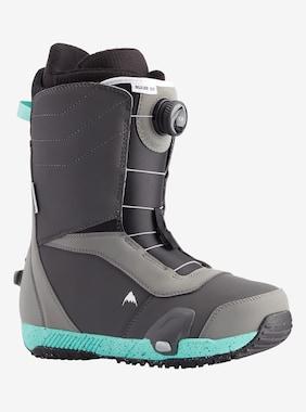 Men's Burton Ruler Step On Snowboard Boot shown in Gray / Teal