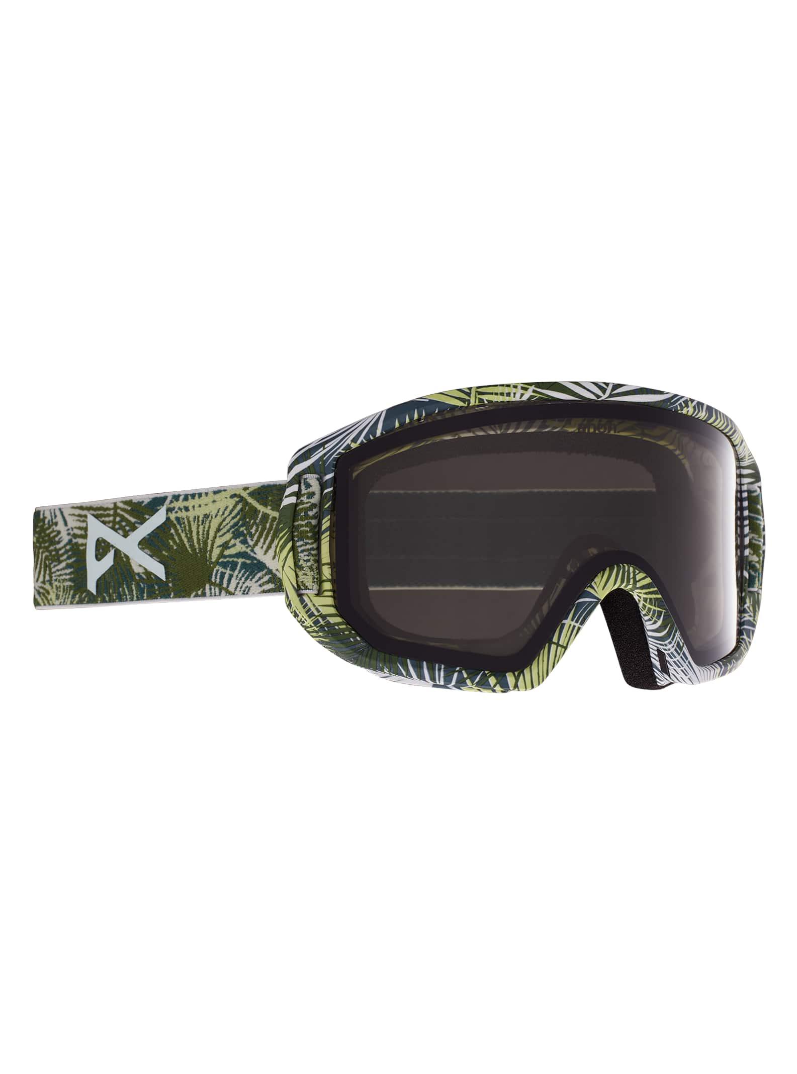 Anon Relapse Jr. skidglasögon + MFI® skidmask för barn, Frame: Blue, Lens: Blue Amber