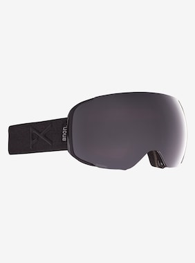 Men's Anon M2 Goggle + Bonus Lens shown in Frame: Smoke, Lens: PERCEIVE Sunny Onyx (6% / S4), Spare Lens: PERCEIVE Variable Violet (34% / S2)