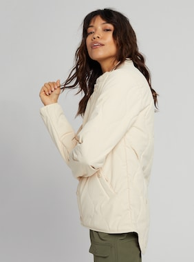 Women's Burton Kiley Jacket shown in Creme Brulee