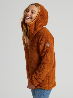 Women's Burton Lynx Full-Zip Fleece shown in True Penny