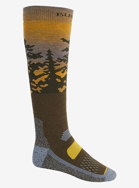 Men's Burton Performance Midweight Sock shown in Sunrise