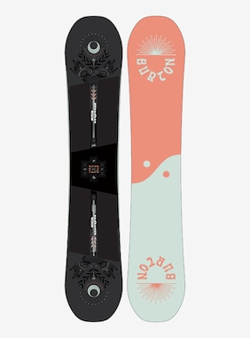 Women's Burton Rewind Camber Snowboard shown in 152