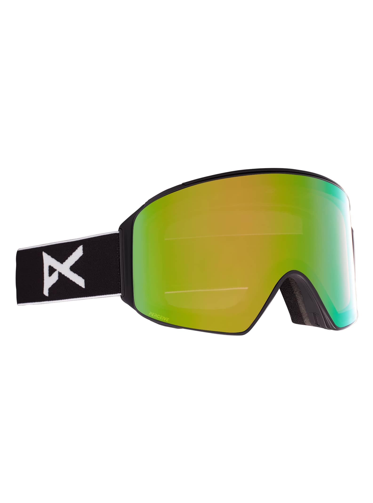 Anon M4 cylyndriska/toriska skidglasögon + reservlins + MFI® ansiktsskydd för herrar
