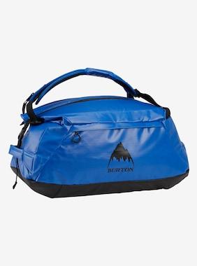 Burton Multipath 60L Expandable Duffel Bag shown in Lapis Blue Coated