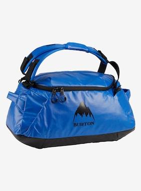 Petit duffel bag Burton Multipath 40L présenté en Lapis Blue Coated