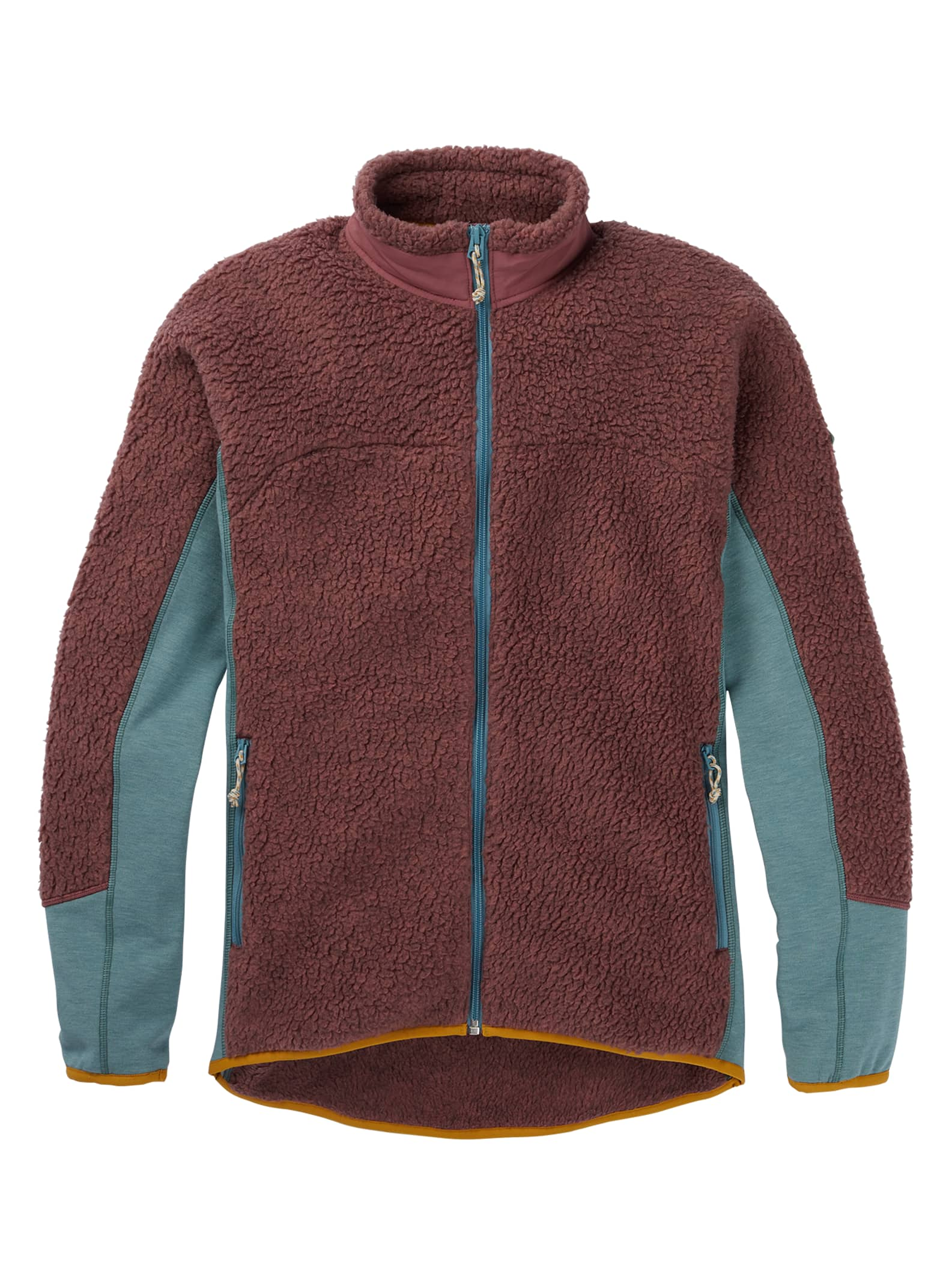 Burton Minturn fleece med blixtlås för damer, L