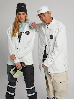 Burton Analog Sparkwave Jacket shown in Stout White