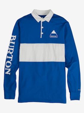 メンズ Burton ミッドウェイト ラグビー シャツ 画像のアイテムはLapis Blue / Stout White