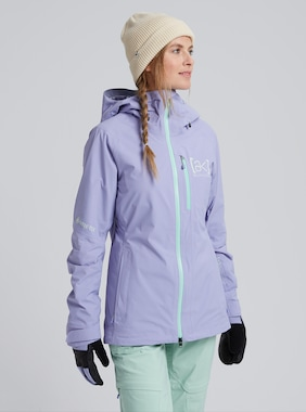 Women's Burton [ak] GORE-TEX 2L Upshift Jacket shown in Foxglove Violet