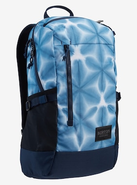 Burton Prospect 2,0 20L Backpack shown in Blue Dailola Shibori