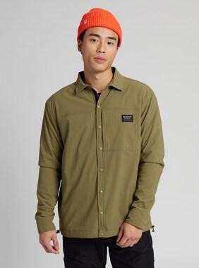 Men's Burton Ridge Lined Shirt shown in Martini Olive
