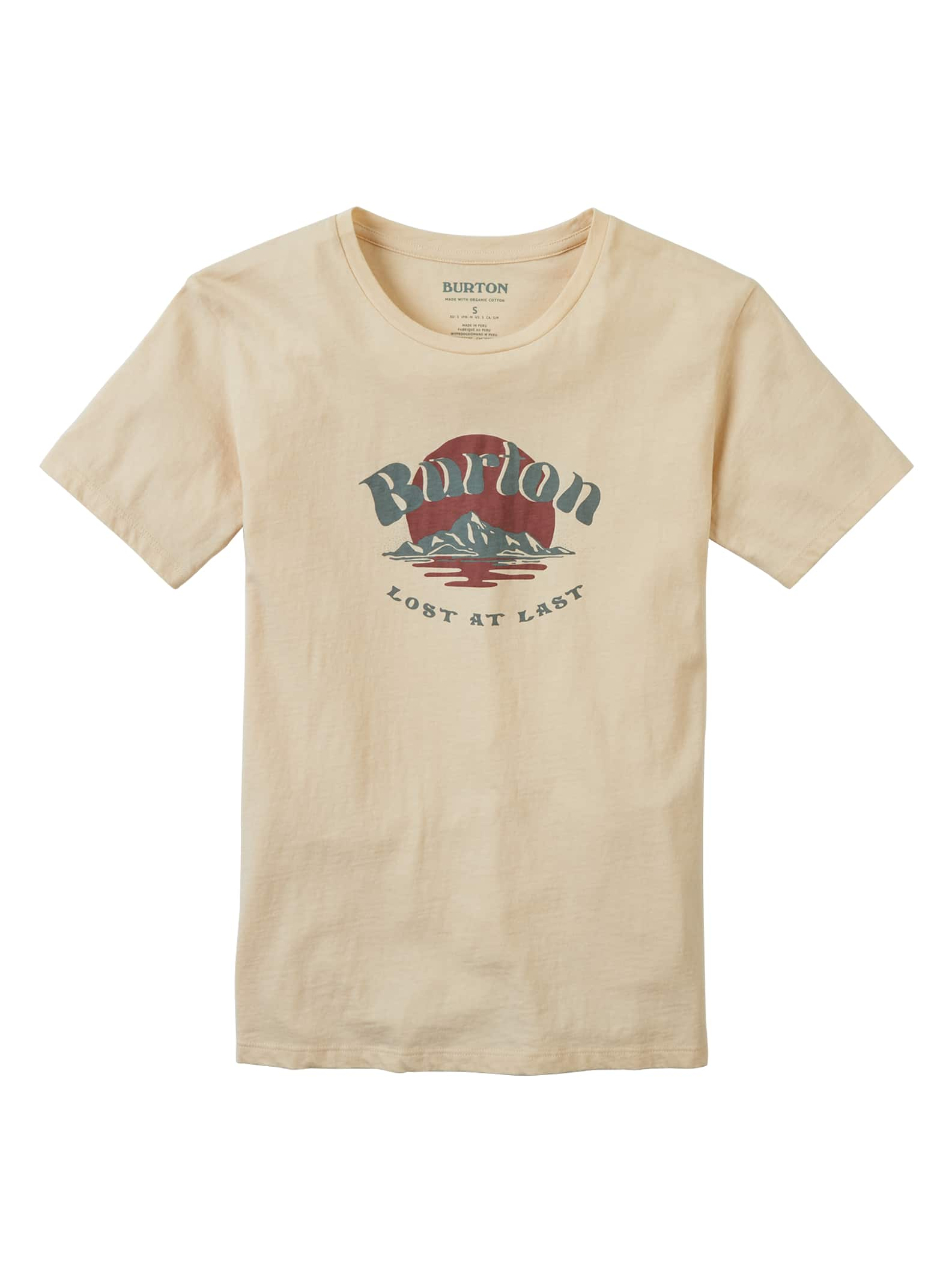 Burton Classic kortärmad t-shirt för damer, XXL