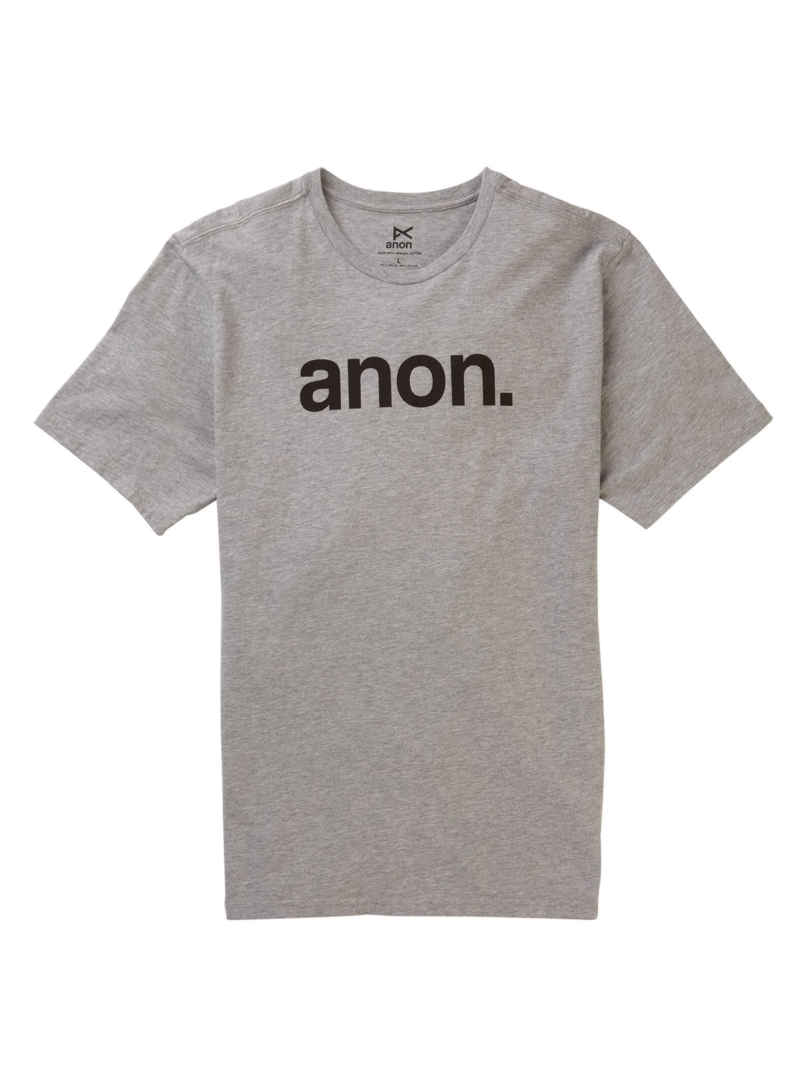 Anon kortärmad t-shirt, Gray Heather, M