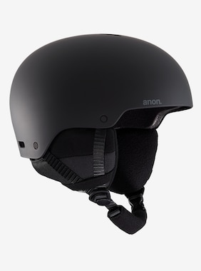 Men's Anon Raider 3 Helmet - Asian Fit shown in Black