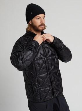 Men's Burton [ak] Baker Lite Down Jacket shown in True Black